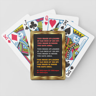 Mall som leker kort spelkort