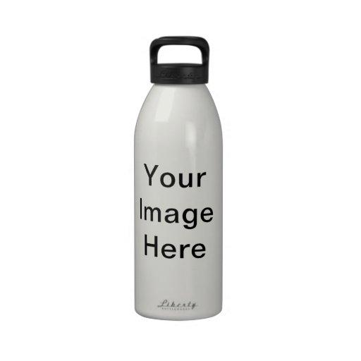 Mallar för fars daggåvaidéer DIY Vattenflaskor