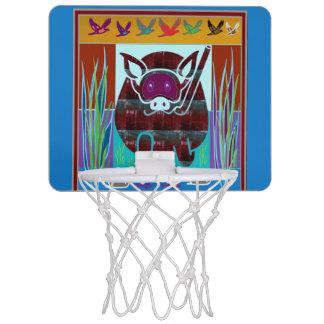 Mallen DIY Blank tillfogar AVBILDAR Mini-Basketkorg