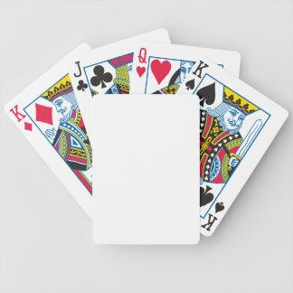 MALLEN DIY tillfogar text avbildar Spelkort