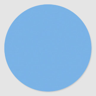 Mallen för blåttakrylstruktur DIY tillfogar Runt Klistermärke
