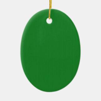 Mallen för grönt DIY för slätten tillfogar den Julgransprydnad Keramik