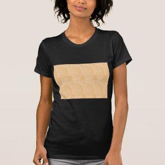 Mallen inristat guld omkullkastar: Tillfoga text T-shirt