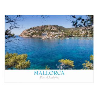 Mallorca - portAndratx vykort med text