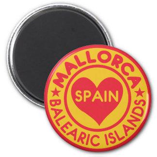 MALLORCA Spanien magnet Magnet Rund 5.7 Cm
