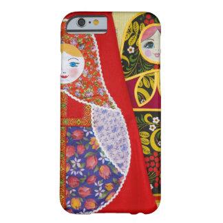 Målning av den ryska Matryoshka dockan Barely There iPhone 6 Skal