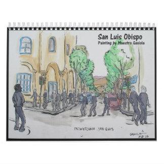 Målning av San Luis Obispo Kalender