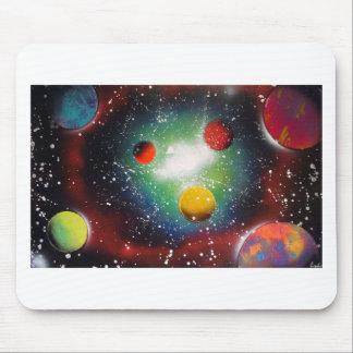 Målning för galax för musmatta