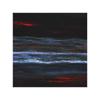 Målning för hav för strand för hav för canvastryck