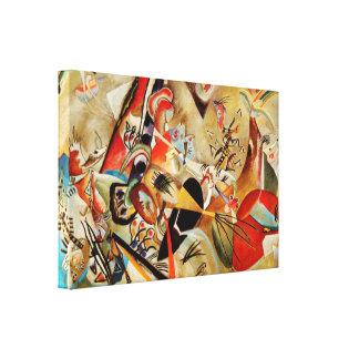 Målning för Kandinsky sammansättningsabstrakt Canvastryck