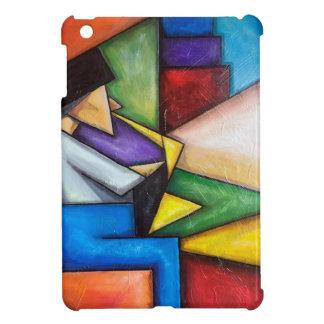 Målning för Saxspelareabstrakt för iPadfodral iPad Mini Skydd
