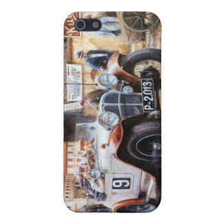 Målning för tävlings- bil för rishög iPhone 5 cases