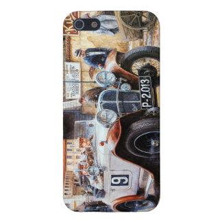 Målning för tävlings- bil för rishög iPhone 5 fodraler