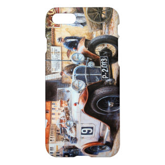 Målning för tävlings- bil för rishög iPhone 7 skal