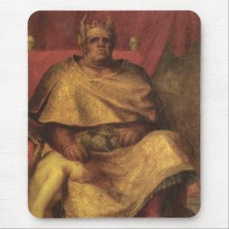 Målning för vintageMammon djävulen Musmatta