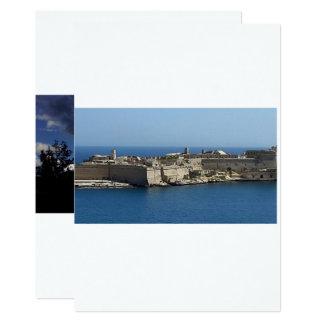 Malta 🇲🇹 2015 12,7 x 17,8 cm inbjudningskort