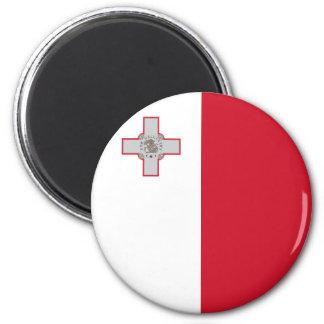 Malta flaggamagnet magneter för kylskåp