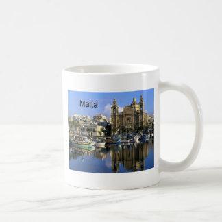 Malta Vallete hamn (St.K) Kaffemugg