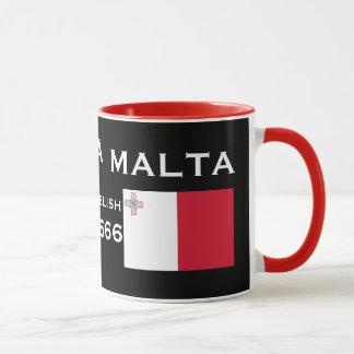 Malta Valletta beställnings- mugg