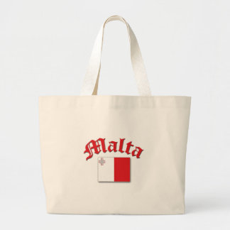 Maltesisk flagga jumbo tygkasse