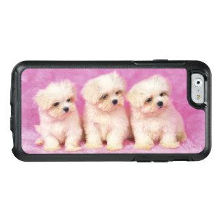 Maltesisk hund; är en liten avel av vithunden OtterBox iPhone 6/6s skal