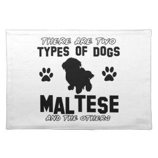 Maltesiska hund design bordstablett