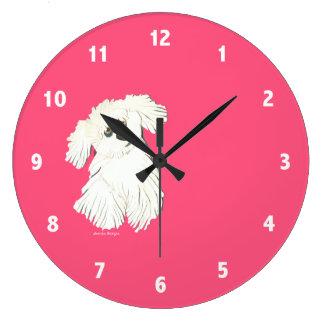Maltesiskt tar tid på stor rund klocka