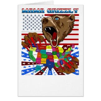 Mama-Grizzly-Set-2 Hälsningskort
