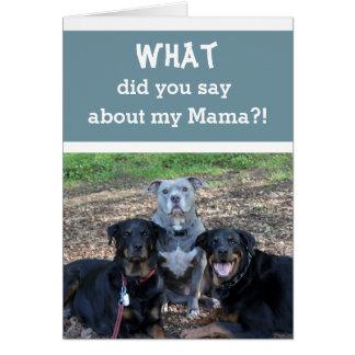 Mamas kort för Bäst mors dag
