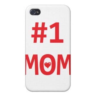 Mamma #1 iPhone 4 fodraler