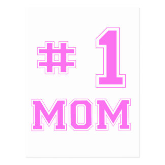 Mamma #1 (numrera en mamma), vykort