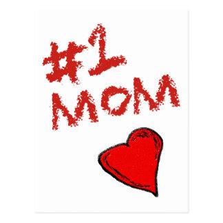 Mamma #1 vykort