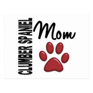 Mamma 2 för Clumber Spaniel Vykort
