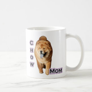 Mamma 4 för ChowChow Kaffemugg