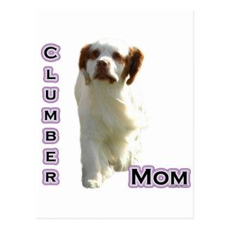 Mamma 4 för Clumber Spaniel Vykort