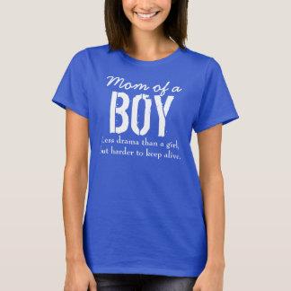 Mamma av en pojke t-shirt