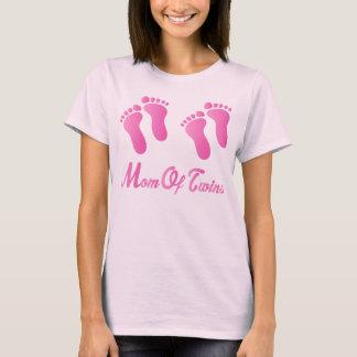 Mamma av skjortan för utslagsplats för rosa tee