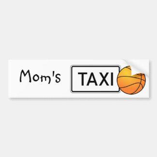 Mamma bildekal för taxibasket