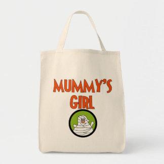 Mamma flickaT-tröja och gåvor Mat Tygkasse