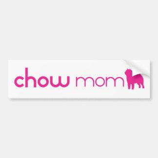 Mamma för ChowChow Bildekal