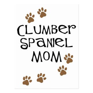 Mamma för Clumber Spaniel Vykort