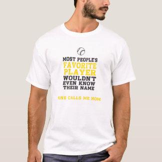 Mamma för den favorit- beklär den ljusa tShirten Tee Shirt