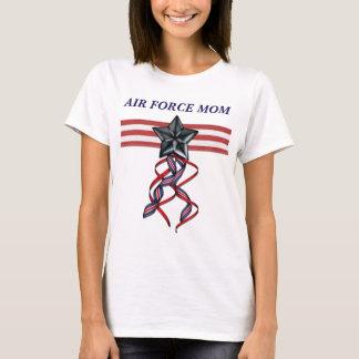 Mamma för flygvapen för blåttstjärnaband tee shirt