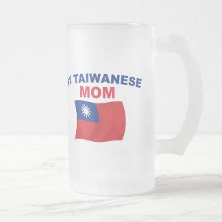 Mamma för taiwanes #1 frostat ölglas