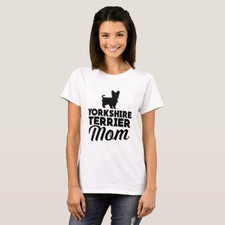 Mamma för Yorkshire Terrier Tee Shirt