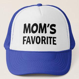 Mamma hatt för ordstäv för favorit- barn rolig truckerkeps