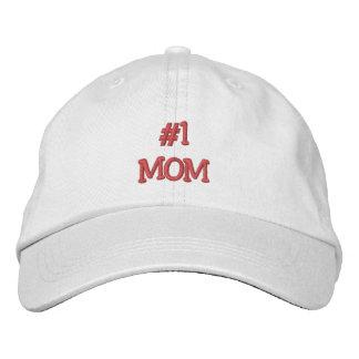 Mamma-Mödrar #1 dag/födelsedag Broderad Keps