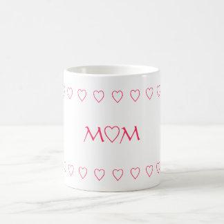 MAMMA W/HEARTS, MUGG