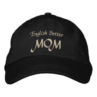 Mammagåvor för engelsk Setter Broderad Keps