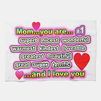 Mamman… är du #1 kökshandduk